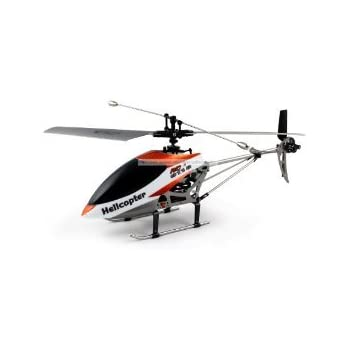 38cm Double Horse 9116 2.4GHz 4CH 4 Channel RC Single Blade Helicopter Gyro Big 450 Size (COLORS MAY VARY)