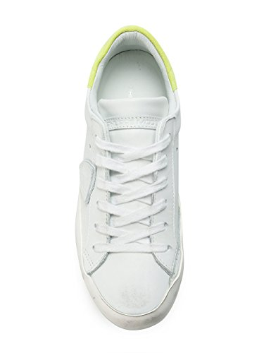 Philippe Model Women's CLLDVN01 White Leather Sneakers hXhj2xY