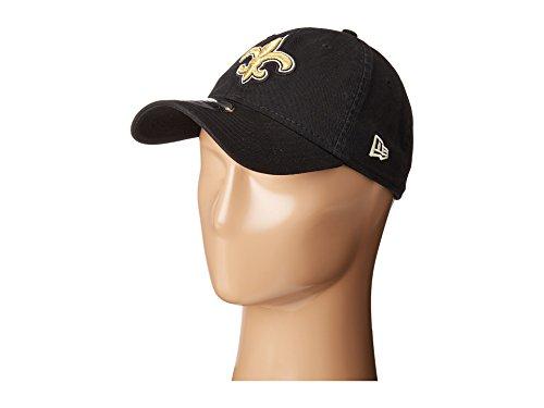 New Era Men's New Orleans Saints 9TWENTY Core Black Hat
