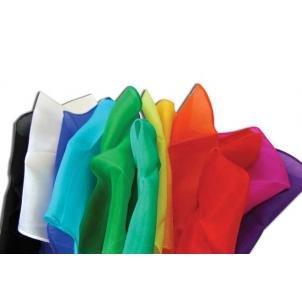 Magic Makers 6 Inch Colored Silks - Professional Grade (12 Pack)