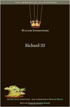 Richard Iii por Burton Raffel
