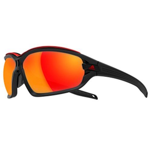 adidas Evil Eye Evo Pro L Rectangular Sunglasses, Black Matte/Black