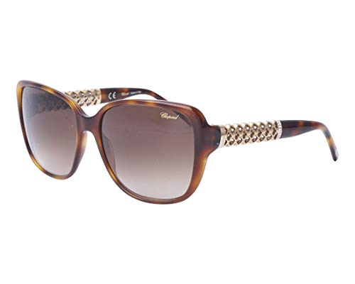 Chopard Designer Sunglasses SCH184S-0752 in Horn with Brown-Gradient Lens ()