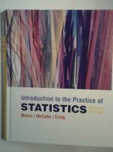 Introduction to the Practice of Statistics w/Student CD (Extended Version) by David S. Moore (2010-11-19)
