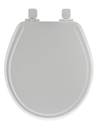 Mayfair 48SLOWA 000 848SLOWA 000 Slow Close Molded Wood Toilet Seat Featuring