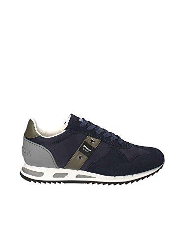 Blauer 8SMEMPHIS05 Sneakers Basse Uomo Blu 40