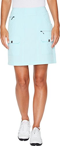 2 Button Stretch Skort - Jamie Sadock Women's Airwear Light Weight 18 in. Skort Serenity 2