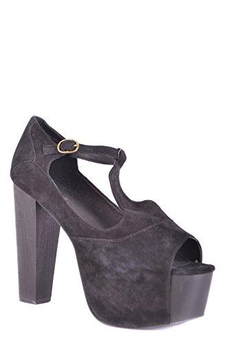 Sandals Women's Suede Campbell Jeffrey MCBI163056O Black HWyAqO8Zw