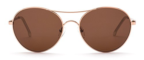 OTIS Eyewear Memory Lane : Rose Gold/Brown Polarized Womens Sunglasses - Catalyst Memory