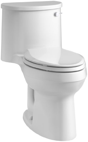 KOHLER K-3946-RA-0 Adair Comfort Height One-Piece Elongated