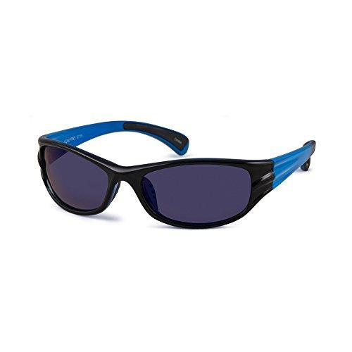 Noah (Black + Blue Fade, Grey + Blue - Sunglasses Noah