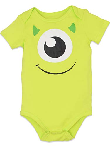 Disney Pixar Baby Boy Girl 5 Pack Bodysuits Nemo Buzz Incredibles Monsters Inc. 0-3 Months