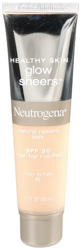 Sheer Illuminating Coverage - Neutrogena Healthy Skin Glow Sheers, SPF 30, Ivory to Fair 10, 1.1 Ounce