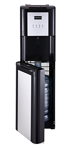 Hamilton Beach BL-1-4A Hot, Cold and Room Temperatures Bottom Loading Water Cooler Dispenser, Black