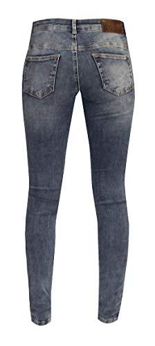 Unique Jeans Femme Taille W7219 Zhrill Blue dqYt7nf6