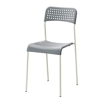 Ikea Chaise Empilable Adde En Plastique Avec Cadre En