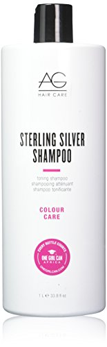 Price comparison product image AG Hair Sterling Silver Toning Shampoo, 33.8 Ounce