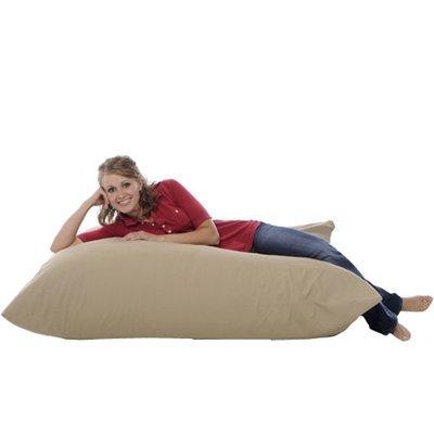 31KKm4fZm5L - Xorbee 5-Foot Foam-Filled Bean Bag Pillow in Microsuede