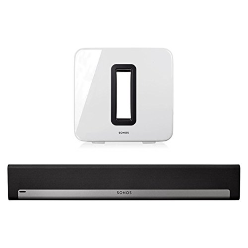Sonos 3.1 Home Theater System with PLAYBAR and SUB (White) by Sonos