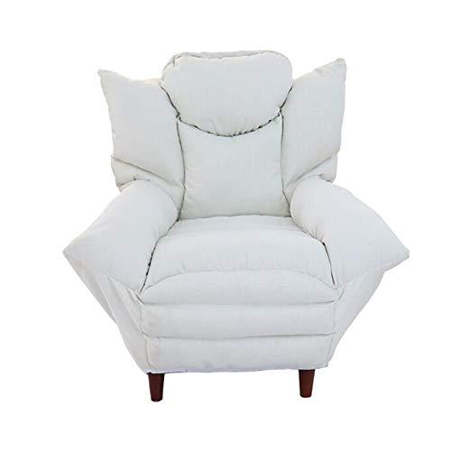 Amazon.com: YQQ-Lazy - Sillón de tela de lino, para sofá ...