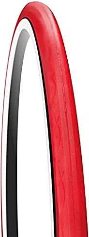 GORIX Bike Home Trainer Tire 700×23c Noise Reduction Bicycle (Red)