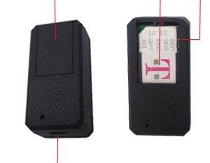 Hangang Mini GPS Tracker Localizador GPS Rastreador GPS Antirrobo de SMS Seguimiento en Tiempo Real para Coche Veh/ículos Moto Bicicletas Ni/ños Billetera Documentos