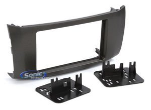 Metra 95-7618G Double DIN Installation Kit for Nissan Sentra 2013-Up (Gray) ()