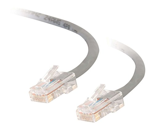 (Cables to Go Enhanced Cat5 350MHz Crossover Patch Cable - Crossover cable - RJ-45 (M) - RJ-45 (M) - 2M - UTP - ( CAT 5e ) - stranded - grey)