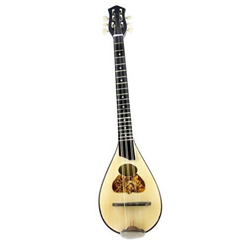 Baglama Baglamas Greek Traditional Music Instrument Handmade Small Bouzouki M0001H by Handmade