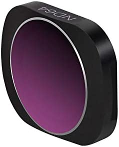 Xinvision DJI OSMO POCKET対応 ND64 減光フィルター - カメラ レンズ スリム 光学ガラス 多層コーティング フィルター