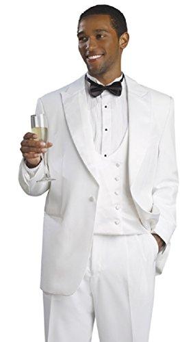 White 3 Piece Suit - 6