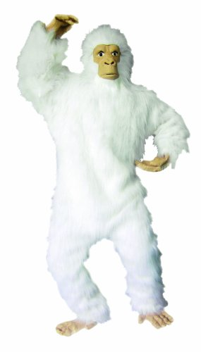 RG Costumes Men's Plus-Size White Gorilla
