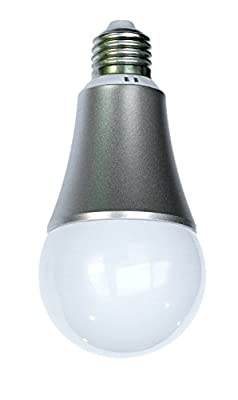 Aeotec LED Bulb Gen5, Z-Wave Plus RGBW Dimmable Smart Light Bulb with Cool & Warm Whites for Home Lighting Decoration, Works with Alexa