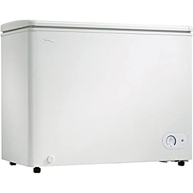 8.1 Cu. Ft. Chest Freezer- White