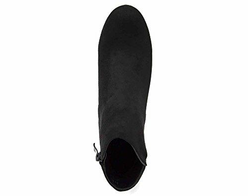 Oh My Shop, Damen Stiefel & Stiefeletten  schwarz schwarz 36