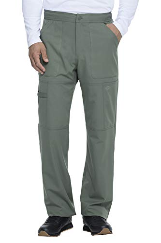 Dickies Dynamix DK110 Natural Rise Zip Fly Cargo Pant (Olive, X-Large Short) by Dickies