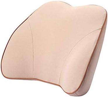 CJY-Cushion Almohada Soporte Sof/á Cama Silla de Oficina Descanso Asiento Almohada en Forma de T Lectura Soporte de Respaldo Coj/ín de inserci/ón Algod/ón de Fibra con Funda extra/íble,A,52X38X20cm