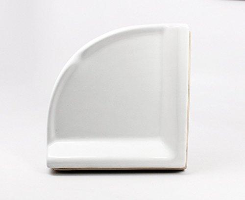 BA780 DALTILE Corner Shower Shelf Wall Accessory White 8-1/2
