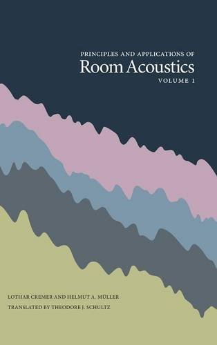 Principles and Applications of Room Acoustics, Volume 1 by Peninsula Publishing