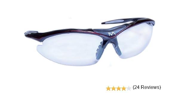 Mantis Squash - Gafas de protección, color negro y rojo: Amazon.es: Deportes y aire libre