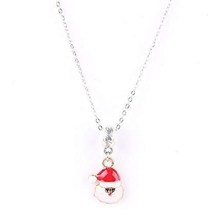 41c6ecb5b0ad6 Lindsie-Box - Christmas Gift Santa Claus Pendant Necklace European ...