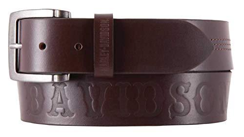 harley davidson brown belt - 4