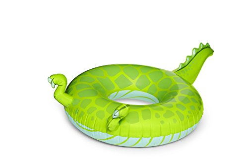 BigMouth Inc Giant T-Rex Tail Pool Float, 6-Foot Long Pool T