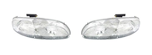 - CPP Left & Right Headlights for Chevrolet Lumina, Monte Carlo GM2503139, GM2502139