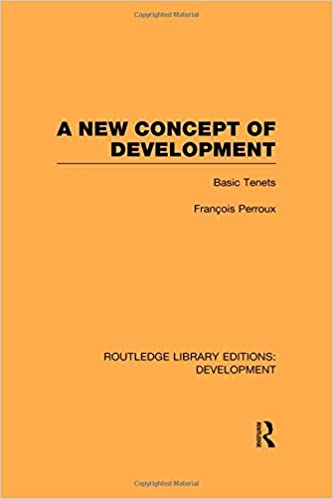 A New Concept of Development: Basic Tenets