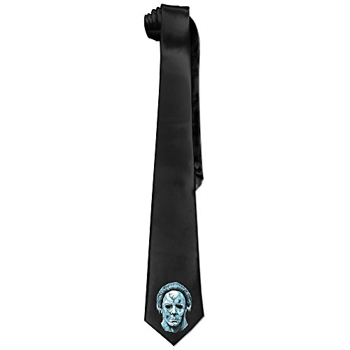 Cool Michael Myers Necktie Elegant Tie For Men