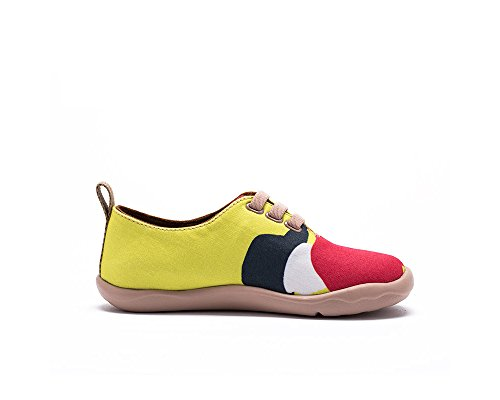 Età Le Chaussures De Uin La Toiles adolescent Pour Mode Errant Chevalier Enfant Jaune Casual URwq4d0a4