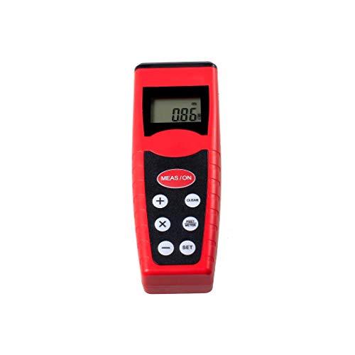 (PoityA CP3000 18m Ultrasonic Rangefinder Distance Meter Area Measurement Wireless LCD Display Handheld Diastimeter Red Infrared IR 60ft/18m Electronic Range Finder)