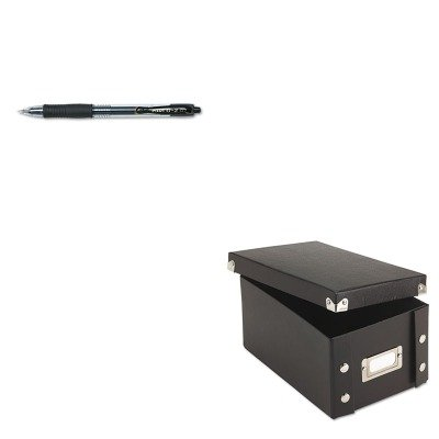 KITIDESNS01577PIL31020 - Value Kit - Snap-n-store Snap 'N Store Collapsible Index Card File Box Holds 1 (IDESNS01577) and Pilot G2 Gel Ink Pen (PIL31020)
