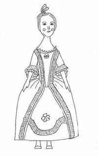 Barbossa Pirates Of The Caribbean Costume (18th Century Fashion Doll Pattern)